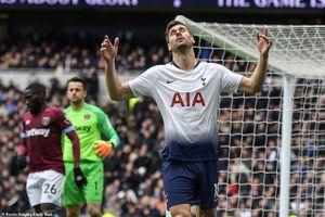 Thua đắng ở derby London, Tottenham lỡ cơ hội bứt phá top 3