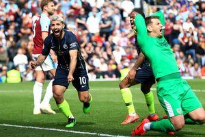 Thắng Burnley 1-0, Man City tiến gần hơn đến chức vô địch Premier League