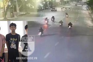 Thanh niên bị bắt sau khi nhập đoàn 'quái xế' lạng lách quanh hồ Hoàn Kiếm