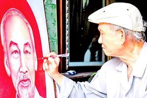 Người chiến sĩ trọn đời vẽ chân dung Bác Hồ