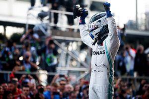 Valtteri Bottas thắng chặng Azerbaijan GP, lấy lại ngôi đầu bảng
