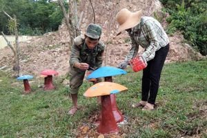 Bộ đội Cụ Hồ ở Làng Ho