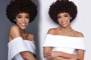 Cô gái 2X da màu có mái tóc 'mì gói' đăng quang Hoa hậu tuổi teen Mỹ
