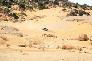 Chùm ảnh: Mãn nhãn với màn trình diễn đua xe thể thao địa hình trên đồi cát Mũi Dinh, Ninh Thuận