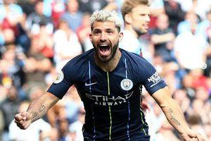 Xé lưới Burnley, Aguero cân bằng kỉ lục 'khủng' của Henry
