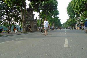 Hà Nội: Kéo dài thời gian hoạt động của phố đi bộ hồ Gươm dịp lễ 30/4 và 1/5