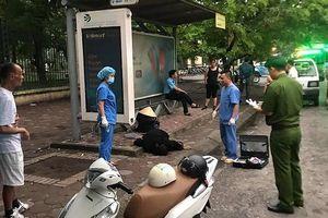 Phát hiện người đàn ông tử vong tại nhà chờ xe buýt gần Công viên Nghĩa Đô
