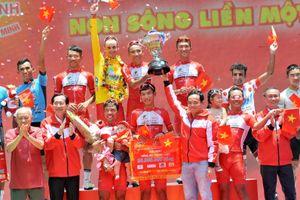 Các tay đua TPHCM thắng lớn tại giải xe đạp Cúp Truyền hình