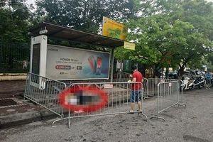Tá hỏa phát hiện người đàn ông chết bất thường ở trạm xe buýt