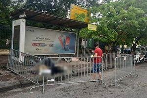 Phát hiện người đàn ông tử vong tại trạm xe buýt ở Hà Nội