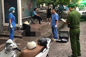 Hà Nội: Người đàn ông tử vong tại nhà chờ xe buýt gần công viên Nghĩa Đô