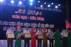 Lễ hội Cầu Ngư Quảng Bình được trao bằng Di sản Văn hóa phi vật thể cấp quốc gia