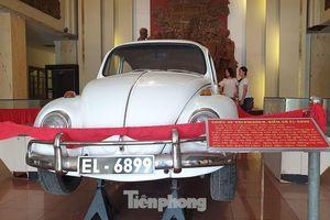 Câu chuyện về chiếc xe Volkswagen của 'Trùm tình báo Tư Chung' đang ở bảo tàng