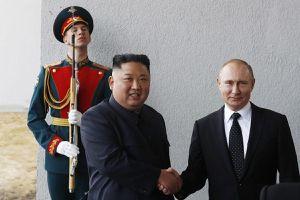 Vừa gặp ông Kim Jong-un, ông Putin đã muốn xây cầu ô tô nối Nga - Triều Tiên