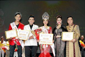 Ngô Ngọc Mỹ, Hoàng Kỳ Nam đoạt 'Hoa hậu và Nam vương Duyên dáng toàn cầu 2019'
