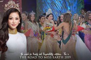 Miss Earth Phương Khánh bắt đầu hành trình tìm kiếm 'Thiên thần Trái Đất' trên khắp thế giới