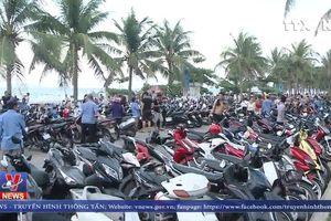 Nhiều bãi biển tại Đà Nẵng quá tải dịp nghỉ lễ