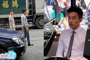 Lưu Khái Uy lộ ảnh hậu trường đóng phim, không còn là nam thần khí chất ngày nào