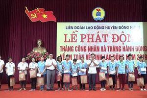 LĐLĐ huyện Đông Hưng (Thái Bình) đẩy mạnh chăm lo đoàn viên