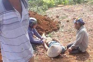 Mâu thuẫn đất đai, chém chết 2 người rồi tự tử
