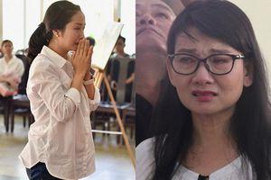 Sao Việt khóc nức nở trong đám tang cố nghệ sĩ Lê Bình