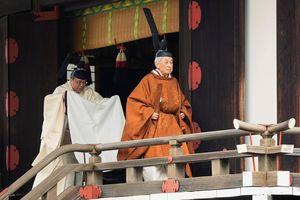 Nghiêm trang lễ thoái vị của Nhật hoàng Akihito