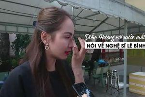 Diễn viên Hiền Mai, hoa hậu Diễm Hương rơi nước mắt khi viếng nghệ sĩ Lê Bình