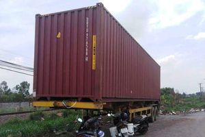 Trộm lôi container từ Bình Dương về Đồng Nai khoắng sạch hàng