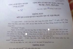 Người gây ra tổn thương 18% ở mắt cho học sinh lớp 1 tại Lạng Sơn thực sự là ai?