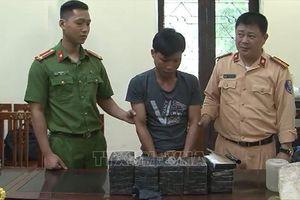 Lạng Sơn: Bắt giữ bốn nghi phạm, thu giữ 26 bánh heroin