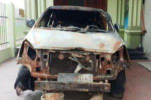Cựu bí thư đoàn xã phóng lửa đốt xe ô tô 500 triệu của hàng xóm