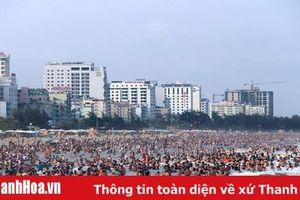 Dịp nghỉ lễ 30-4, 1-5: Sầm Sơn đón trên 730.000 lượt khách, doanh thu đạt 807 tỷ đồng