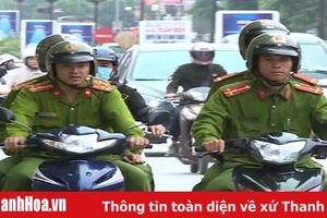 Công an TP Thanh Hóa tăng cường bảo đảm an ninh trật tự cho các hoạt động kỷ niệm 990 năm Thanh Hóa