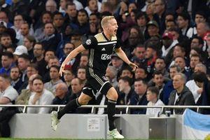 Ajax đặt một chân vào chung kết Champions League sau trận thắng Tottenham