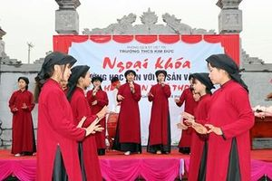 Chung tay gìn giữ di sản hát Xoan trên quê hương đất Tổ