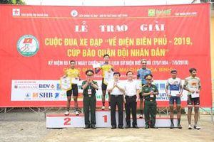 Chặng 2, TP Hà Nội - Hòa Bình: Tay đua Phan Hoàng Thái về đích đầu tiên