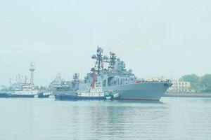 Tàu chiến Nga, Trung Quốc khởi động tập trận chung trên biển