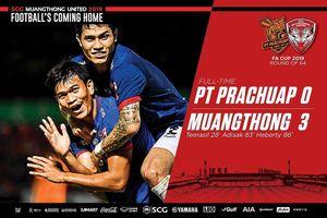 Văn Lâm giữ sạch lưới, Muangthong đè bẹp Prachuap
