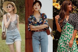 Lên đồ đẹp 'ngất ngây' với trend họa tiết đang được loạt fashionista lăng xê mùa hè