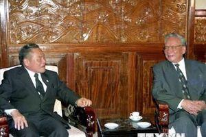 Lãnh đạo các nước chia buồn về nguyên Chủ tịch nước Lê Đức Anh từ trần