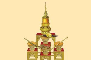 5 bảo vật Hoàng gia trong Lễ đăng quang của Vua Thái Lan