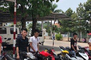 Truy bắt nhóm 'quái xế' tổ chức đua xe trái phép trên đường phố