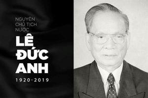 Lãnh đạo các nước gửi Thư chia buồn tới lãnh đạo Việt Nam và gia quyến Đại tướng Lê Đức Anh