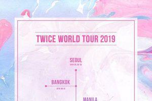 Twice công bố lịch trình World Tour toàn thế giới, tự tin chạm gót tới xứ Cờ hoa