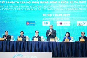 Thủ tướng Nguyễn Xuân Phúc: Tìm cách kích hoạt để kinh tế tư nhân phát triển tốt hơn nữa