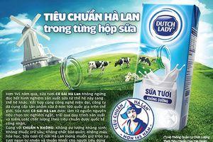 Sữa tươi Cô Gái Hà Lan và cách định vị thương hiệu từ chữ 'chuẩn'