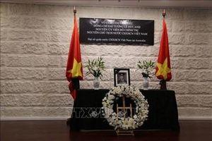 Lễ viếng và mở sổ tang nguyên Chủ tịch nước, Đại tướng Lê Đức Anh tại Indonesia và Australia