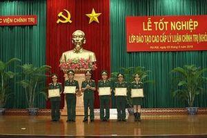 Học viện Chính trị tổ chức Lễ tốt nghiệp Lớp đào tạo cao cấp lý luận chính trị khóa 1