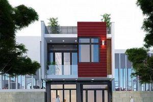 10 mẫu nhà phố 6x10m đẹp xiêu lòng