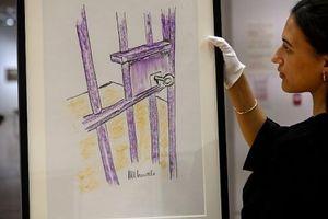 Bán đấu giá bức tranh 'Cửa phòng giam, đảo Robben' của cố Tổng thống Nelson Mandela